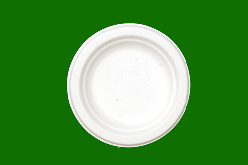 Sugarcane Bagasse Round Plate 6inch