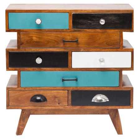 Wooden 8 Drawer