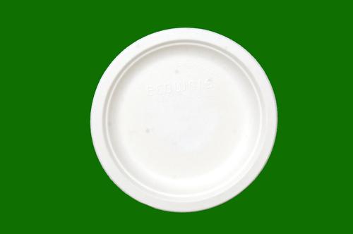 Sugarcane Bagasse Round Plate 7inch