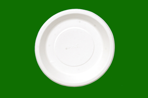 Sugarcane Bagasse Round Plate 7inch