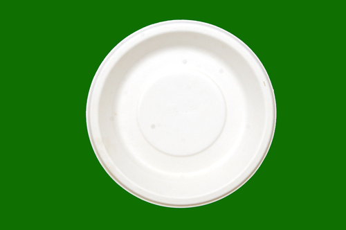 Sugarcane Bagasse Round Deep Plate 9.5inch