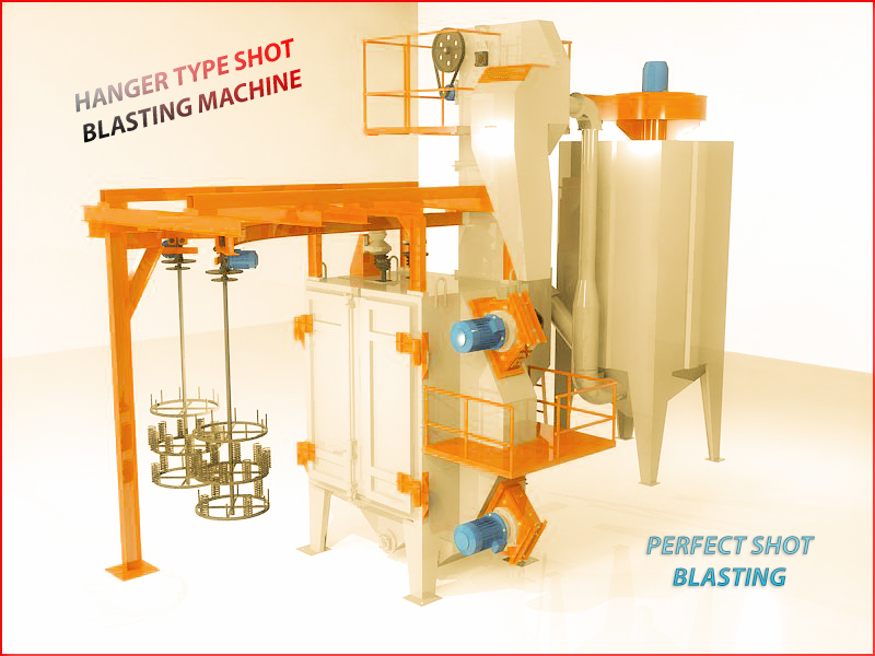 Hanger Type  Shot  Blasting Machine