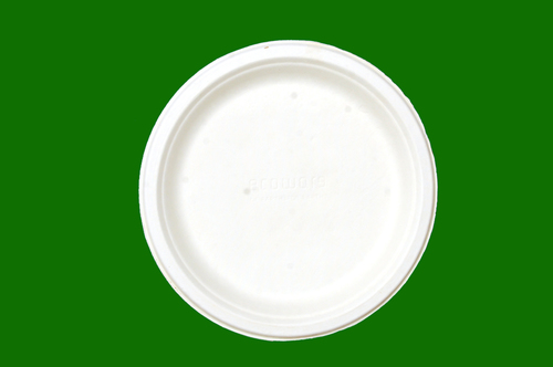 Sugarcane Bagasse Round Plate 10inch