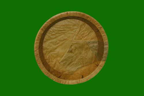 Bahunia Leaf Round Deep Bowl 8inch