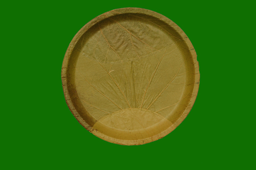 Bahunia Leaf Round Shallow Plate 12inch