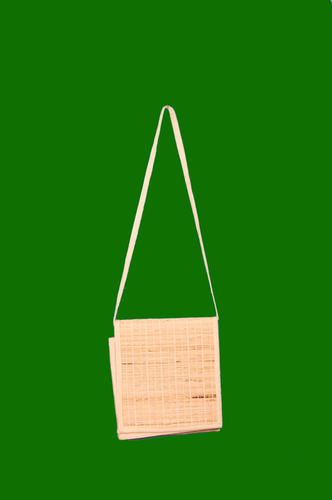 Banana Fiber Bag with Long Handle 9 x 10