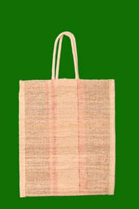 Banana Fiber Bag with Handle 8.5 x 10