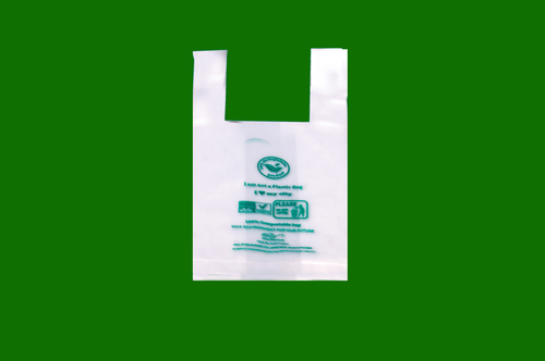 10 x 5 Biodegradable W Cut Bags