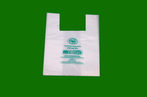 16 x 9 Biodegradable W Cut Bags