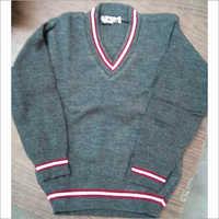 Grey School Sweater