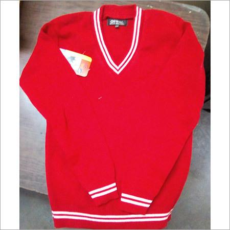 School Red Sweater