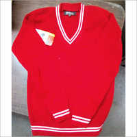 School Red Sweater