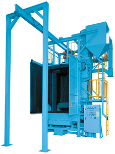 Monorail Type Shot Blasting Machine