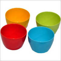 Colored Plastic Bowls