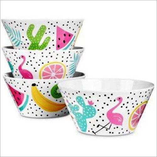 Printed Melamine Bowls