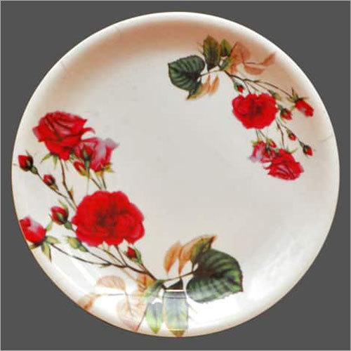 Floral Melamine Plates