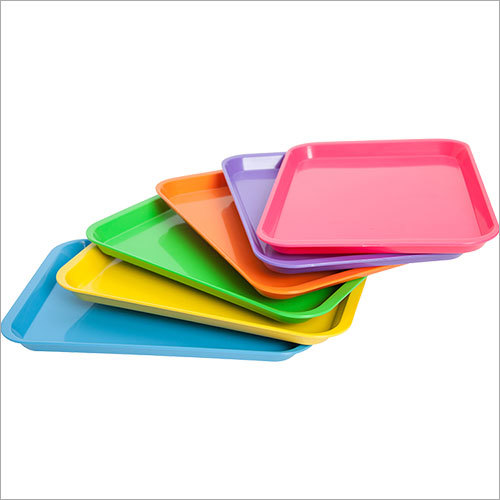 Plain Melamine Tray
