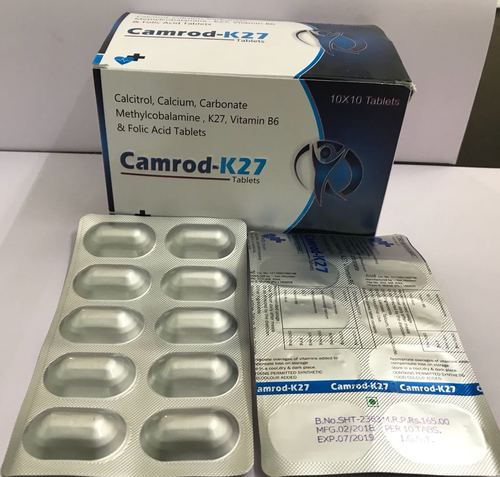 Calcium with Methycoblamine with K27 with Vitamin B6