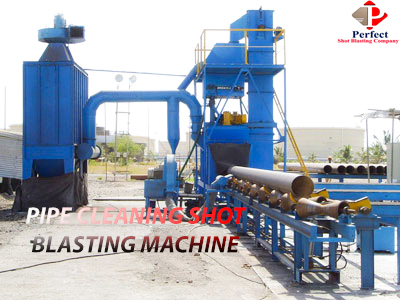 Pipe Cleaning Shot Blasting Machine