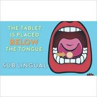 sub lingual tablet