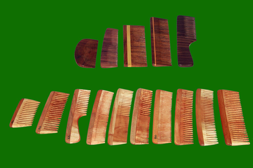 Wooden Comb All Sizes