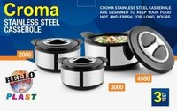 Croma Stainless Steel Casserole Set (Corporate Gift Item)