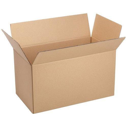 Brown Corrugated Box