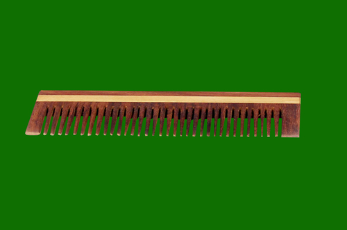 36 Teeth 6 x 2 Wooden Comb