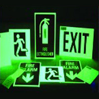Exit Glow Sign Board