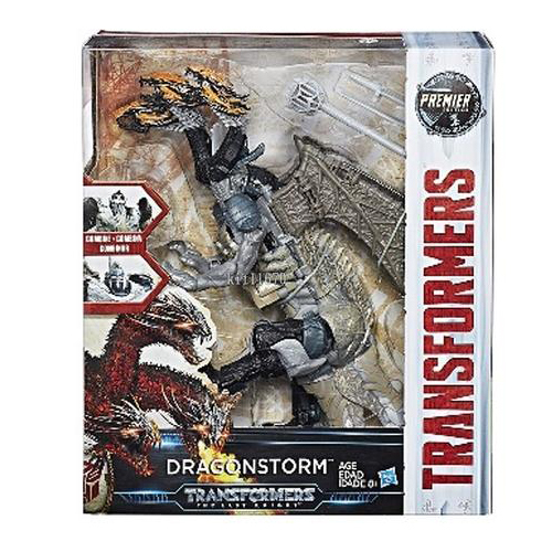 Hasbro Transformers Last Knight Premier Edition Leader Dragonstorm