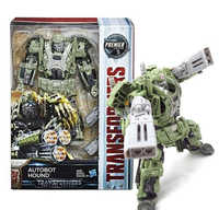 Hasbro Transformers Last Knight Premier Edition Voyager Autobot Hound NEW