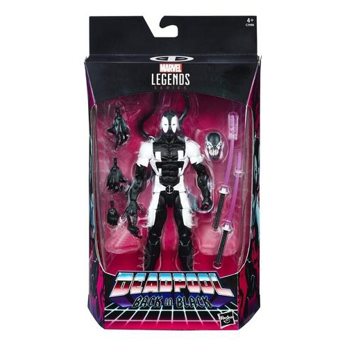 Marvel Legends Black Deadpool