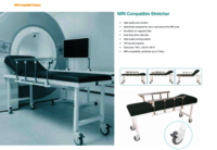 Mri Compatible Trolley/ Stretcher