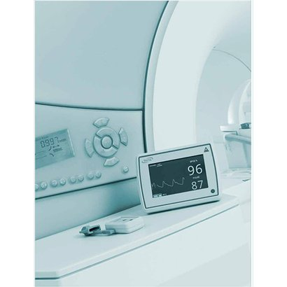 Mri Compatible Pulse Oximeter Application: Wireless Data Transfer Between Monitor And Finger Probe