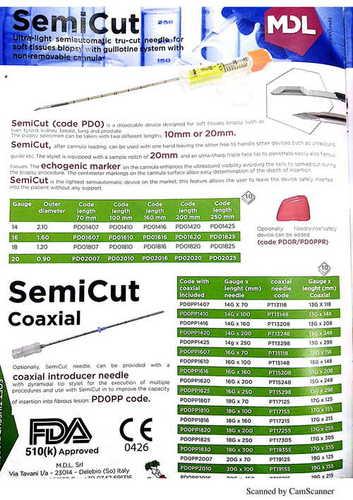 SemiCut (Code PDO)