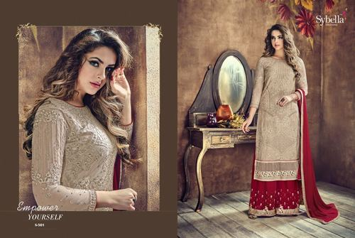 STYLISH PLAZZO SALWAR SUITS