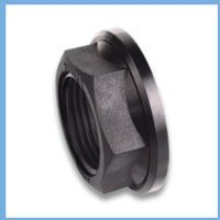 MALE TANK FITTING BLACK BACK NUT