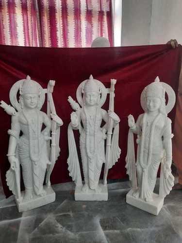 Marble Ram Darbar Murti