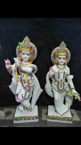 Online Radhe Krishna Marble Statues