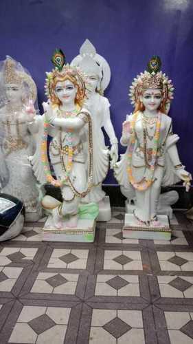 Radhe Krishna Marble Moorti
