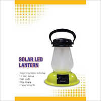 Solar LED Lantern With Li-ion Rechargeable Battery
