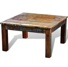 Square Pipe Coffee Table