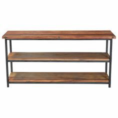 Industrial Console Tables