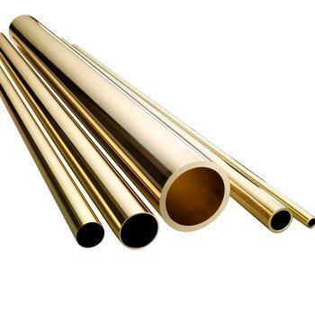 Brass Round Hollow Rod