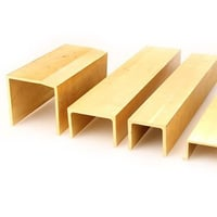 Brass Channel Extrusions