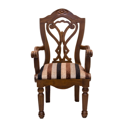 Walnut Veneer Side Chair