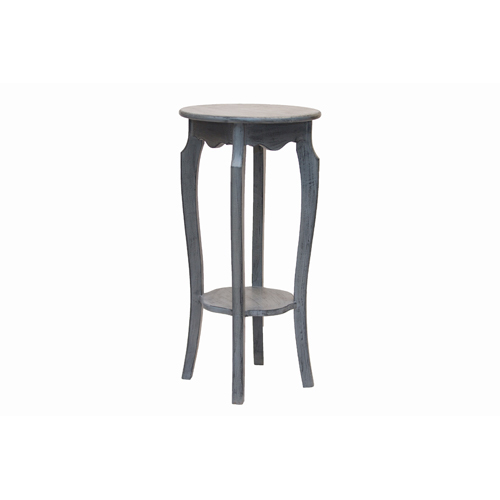 Grey Color wooden Stool