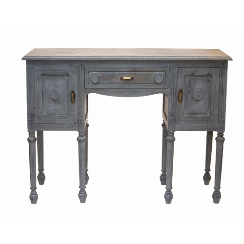 3 Drawer Grey Sideboard