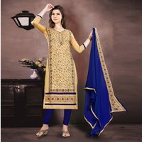 Exclusive Designer Chanderi Salwar Suit