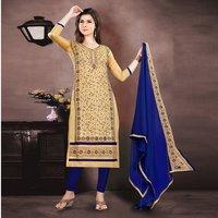 Exclusive Designer Chanderi Salwar Suit